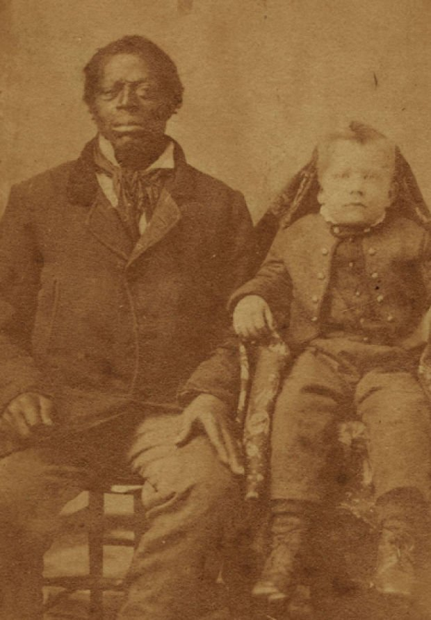 Missouri slave with master's son