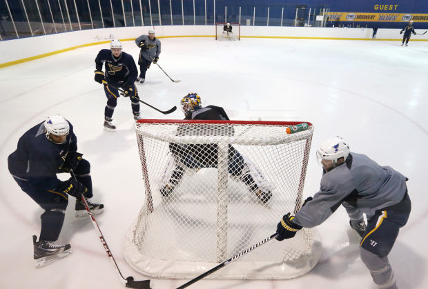 Blues 'pouring Everything' Into Game 5