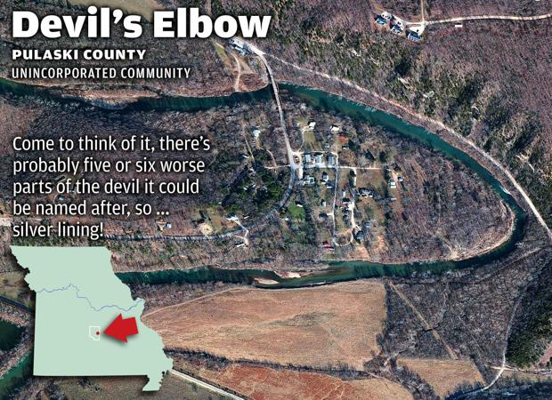 13 missouri towns with uninviting names devil s elbow news