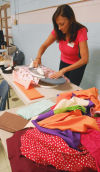 Ironing Pillowcases - ConKerr Cancer
