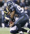 The St. Louis Rams played the Seattle Seahawks at Qwest Field in Seattle, Wa.