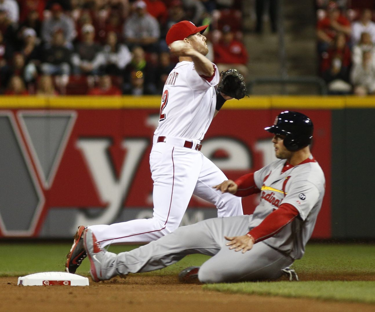 Hamilton, Reds run away from charitable Cards