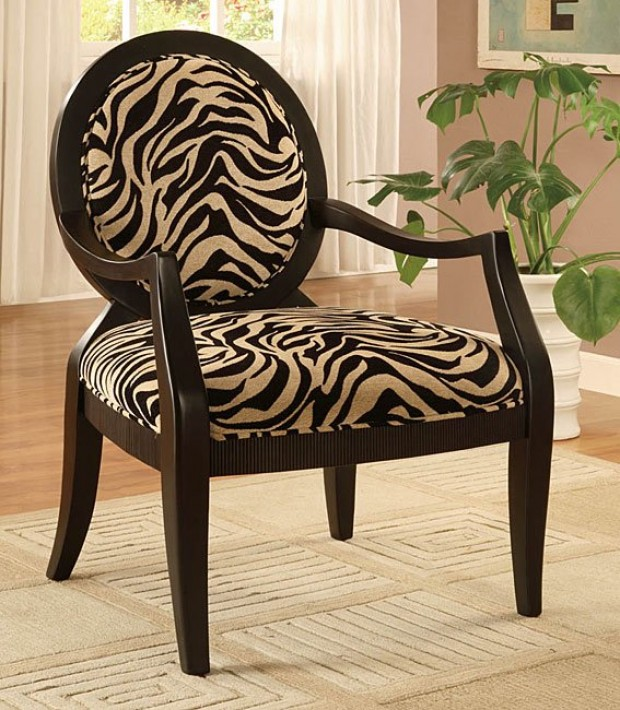 high low zebra print chairs lifestyles. Black Bedroom Furniture Sets. Home Design Ideas