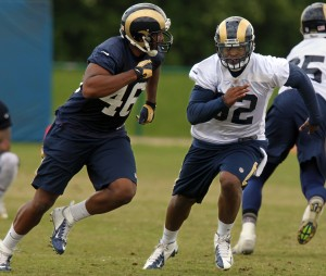 'So far, so good' for Rams' Ogletree