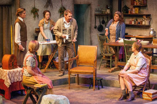 the premise of dancing at lughnasa memory play Previous productions of lughnasa have sometimes been rather lyrical or flowery  because it's a memory play [told by the sisters' nephew.