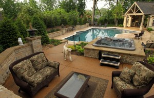 Want a dream room let these st louis homes inspire you lifestyles for Swimming pool and jacuzzi near me