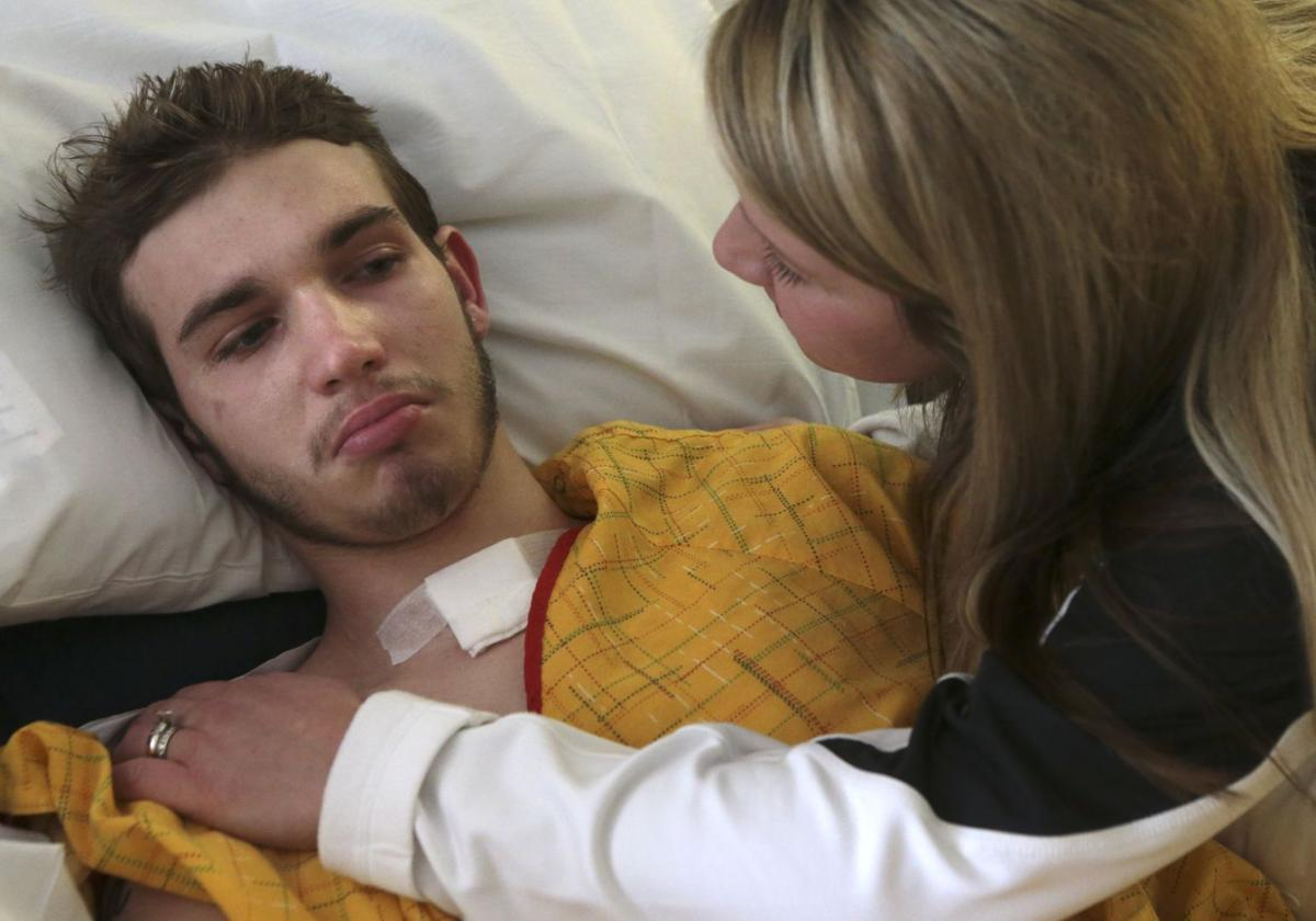 st charles teenager s heroin overdose becomes a warning law and brayden travis hope for recovery puckering of lip