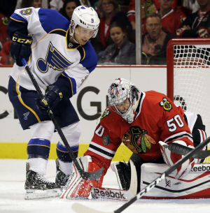 Blues-Blackhawks playoff schedule