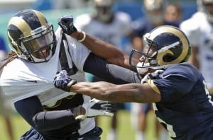 Rams criticize former player over anti-military remarks