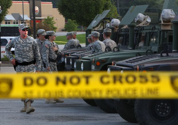 National Guard to pull out of Ferguson after several calmer nights