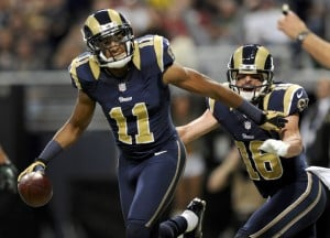 Rams developing balance in passing game
