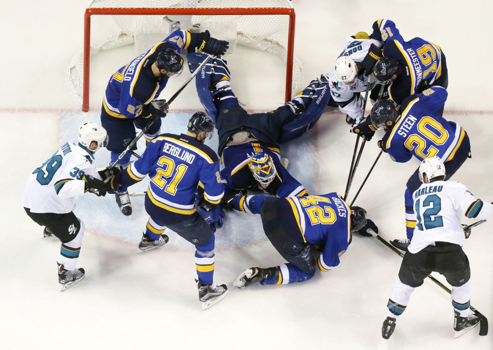 Blues Saved By The 'Ells' In Game 1