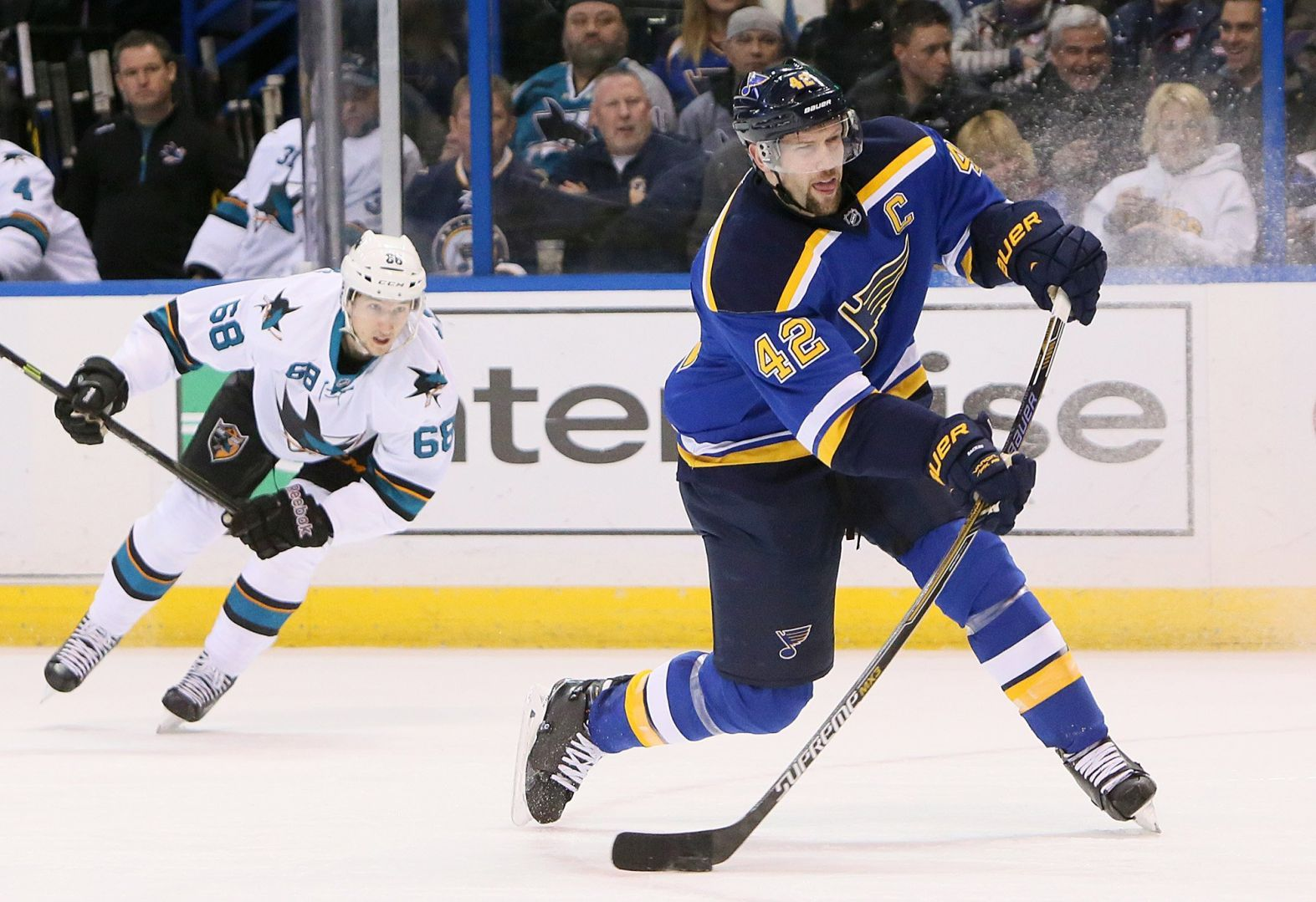 Reloaded Blues return against Flyers