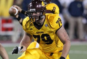 Central Michigan's Fisher leads parade of tackles at Senior Bow…