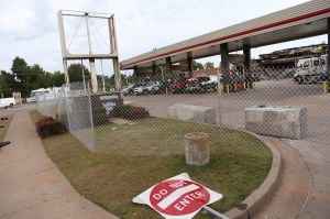 Gasoline removed from tanks at Ferguson QuikTrip site