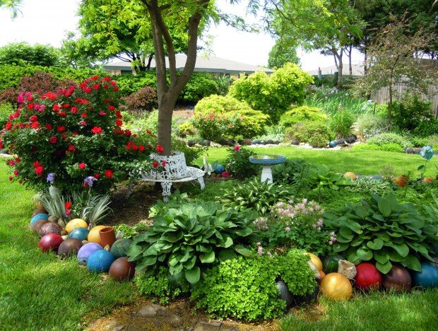 gnome garden decor, Gardens/