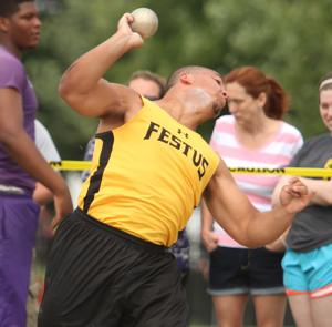 Cummings throws himself into final state meet for Festus