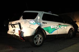 Webster Groves police officer struck in legs while investigating accident, expected to recover