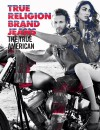 An ad for True Religion features a St. Louis model Brad Kroenig, left