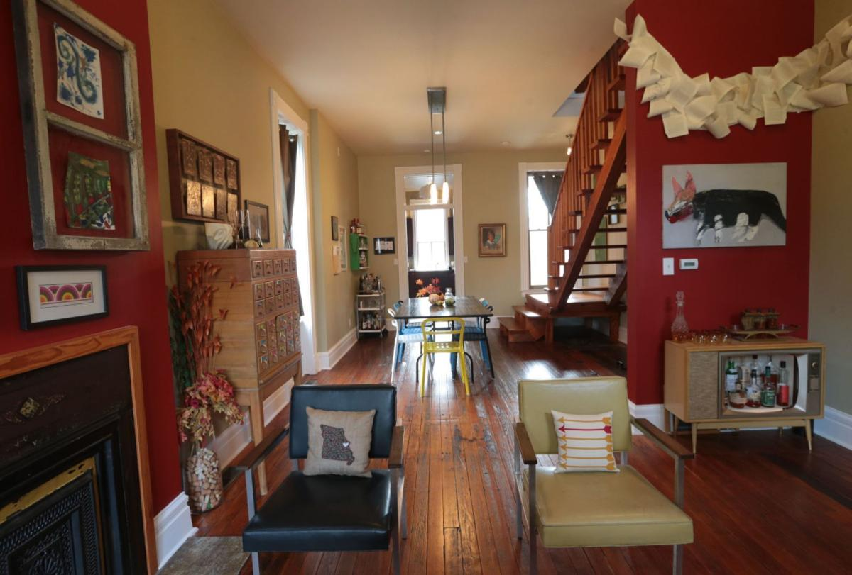 Living Room Furniture St Louis Couple Help Breathe New Life Into Old North St Louis Neighborhood