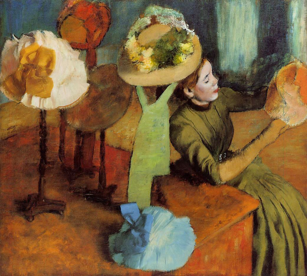 Co color art st louis - Degas The Millinery