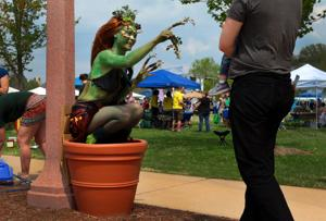 Sunny day equals big crowd at Earth Day Festival under way in Forest Park