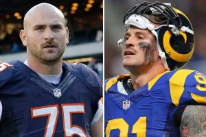 Brothers Chris and Kyle Long will skirmish Sunday