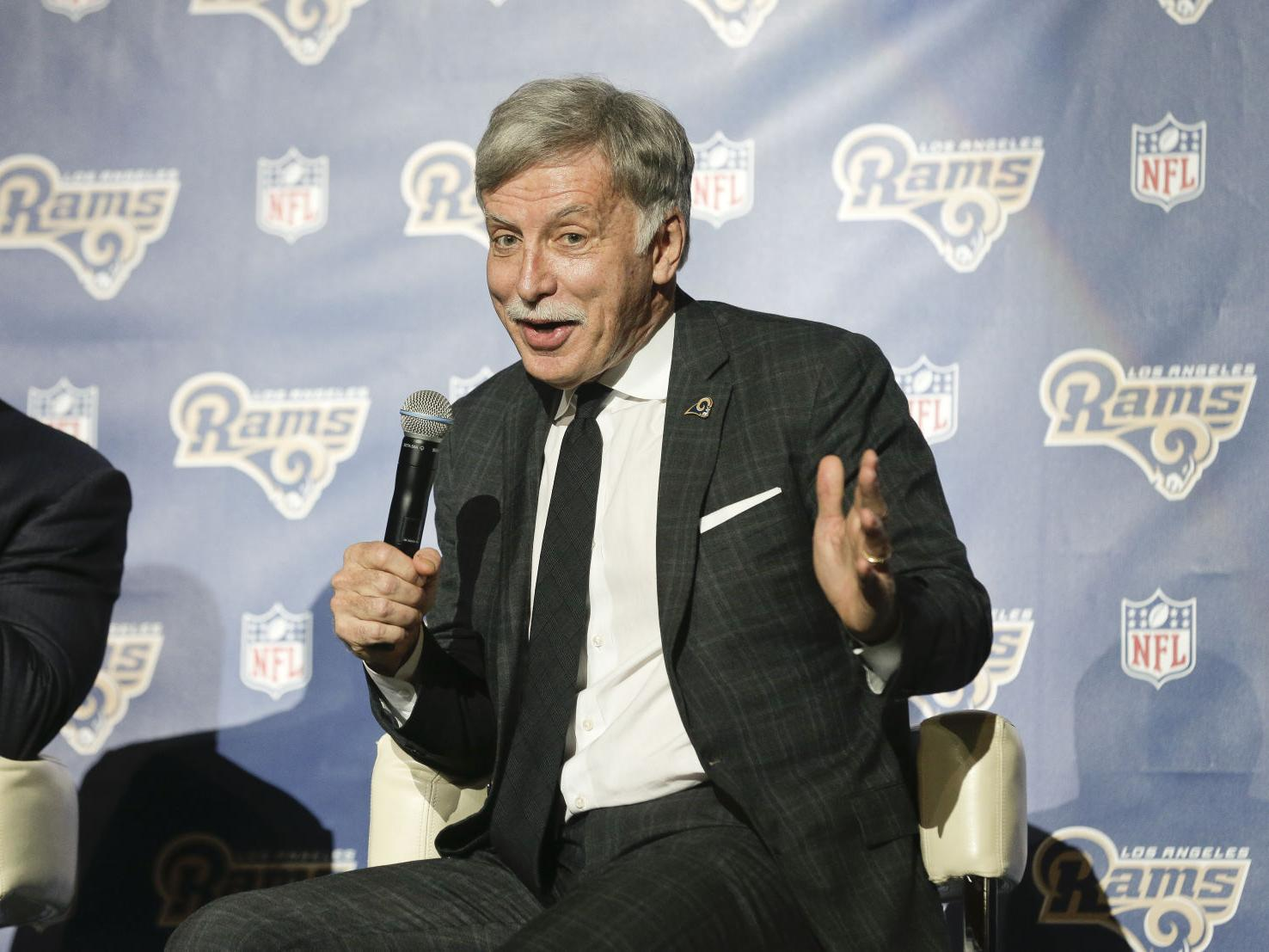 Thomas: Who knew? Kroenke helped discover Warner