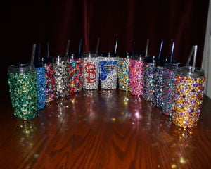 Made in St. Louis: Rhinestones sparkle on tumblers