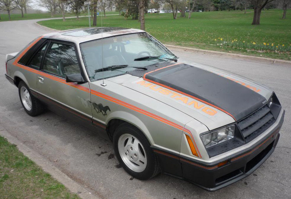 The 1979 Ford Mustang marked a total makeover from second