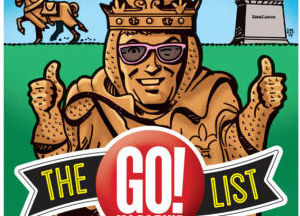 Flip through The Go! List 2014