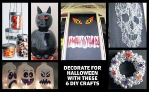 6 creative Halloween decorations for your home