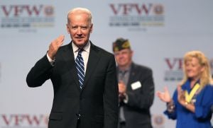 Video: Biden promises veterans VA will be fixed