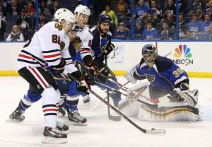 Gordon: Relentless Blues outlast Blackhawks