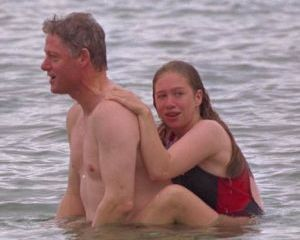 Chelsea Clinton grows up before our eyes
