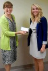 Student wins health care scholarship