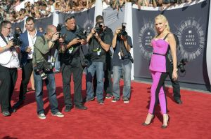 Scenes from the red carpet at the VMA's