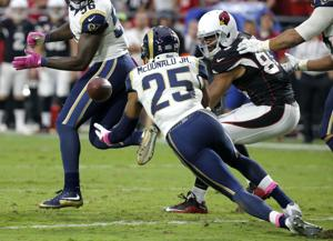 Game blog: Rams defense keys 24-22 win at Arizona