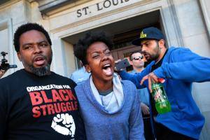 Protesters' Day of Action around St. Louis