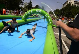 'Slide the City' to use Market Street for 1,000 feet of fun
