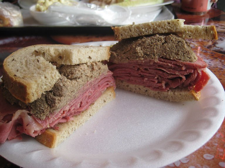 Corned Beef On Desert Island