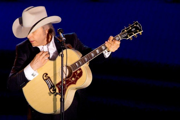 Dwight Yoakam performs at the 42nd Annual Songwriters Hall of Fame Awards in 2011 in New York. Associated Press file