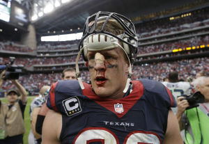 Watt's motor drives strong Houston defense