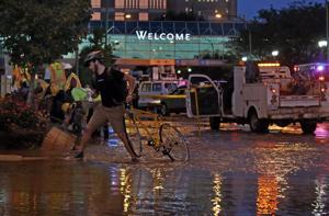 Water main break at Barnes-Jewish Hospital floods Kingsighway Boulevard, traffic diverted