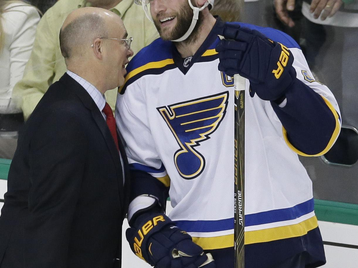 David Backes: A look back at the captain's Blues career