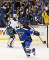 Blues even series with 4-1 win in Game 2