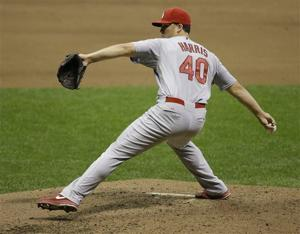 Memorial Day is special for Cards reliever Harris