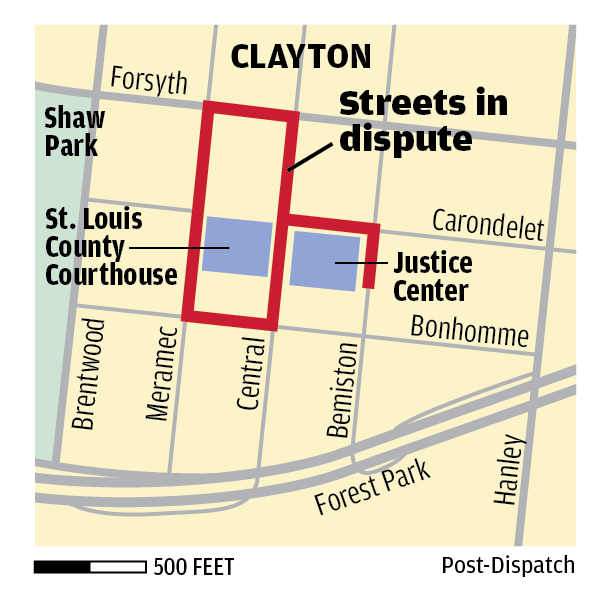 Clayton taken by surprise as St. Louis County moves to take over city streets