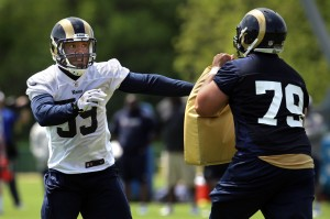 Linebackers try to make Rams roster