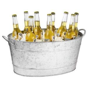 High & Low: Outdoor beverage tub